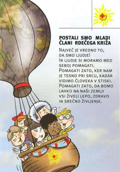 Prostovoljci in mladi - Rdeči križ Slovenije